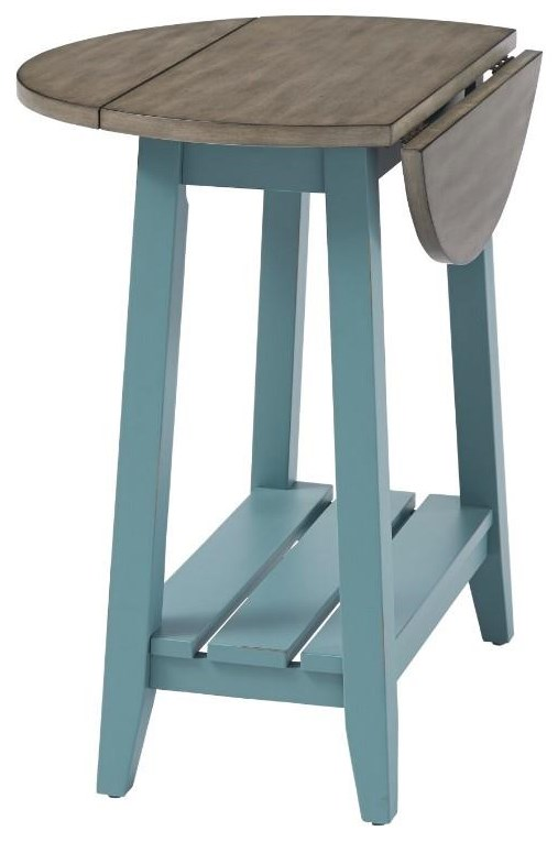 6618 Expressions Drop Leaf End Table by Null Furniture at Esprit Decor Home Furnishings
