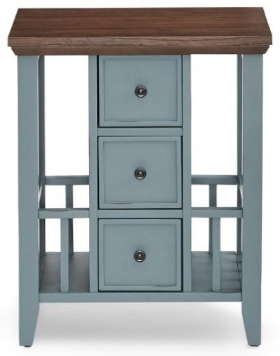 6618 Expressions End Table with Storage by Null Furniture at Esprit Decor Home Furnishings