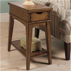 Chairside End Table with Drawer