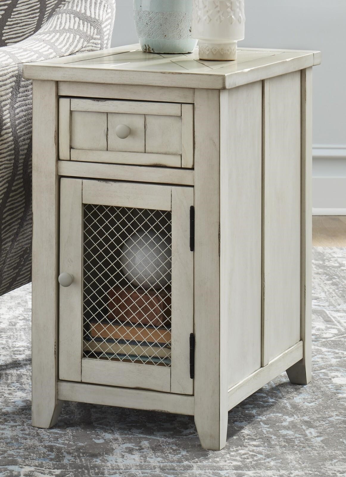 7719 Chairside Cabinet by Null Furniture at Johnny Janosik