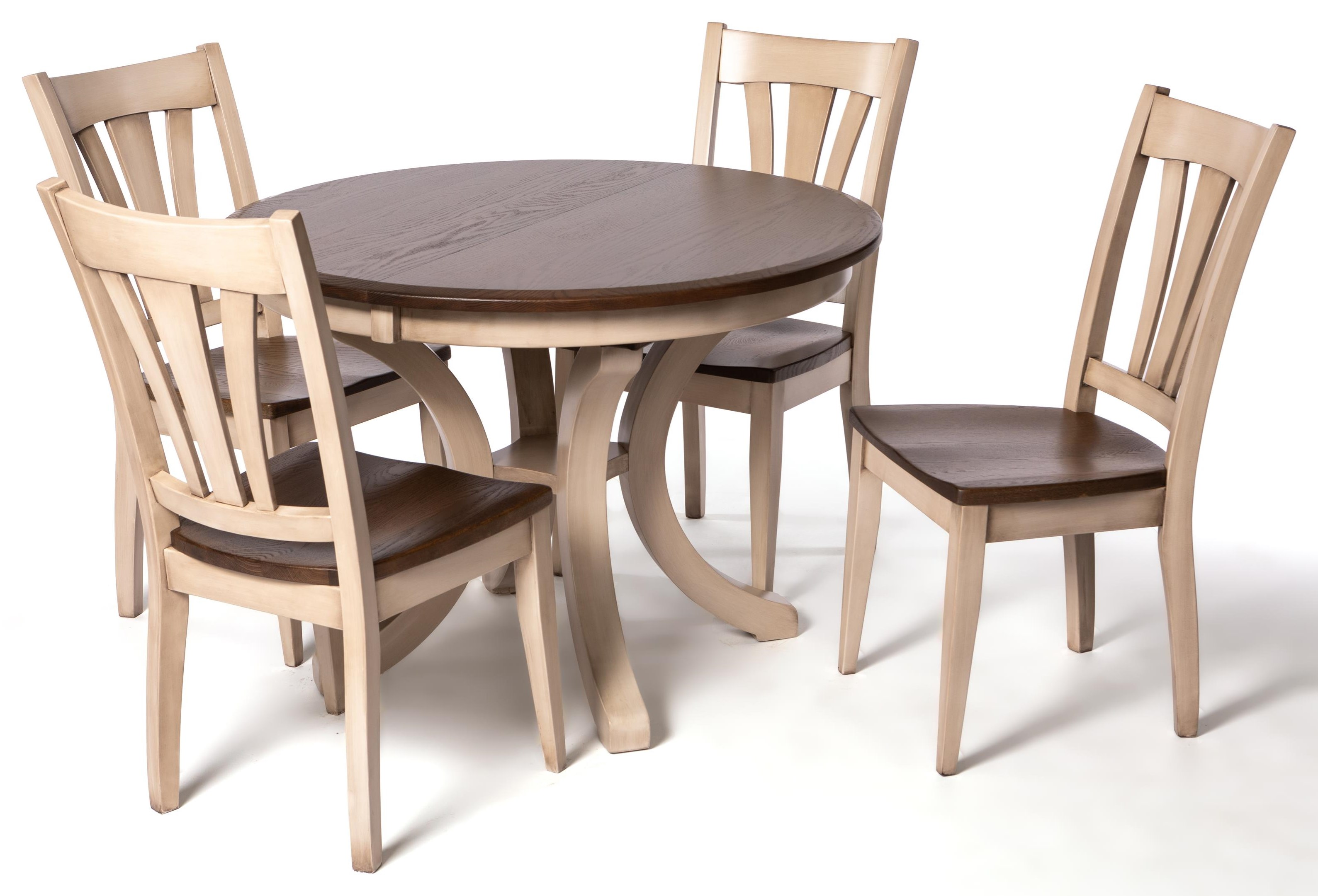 Belmont 5-Piece Dining Set by Oakwood Industries at Crowley Furniture & Mattress