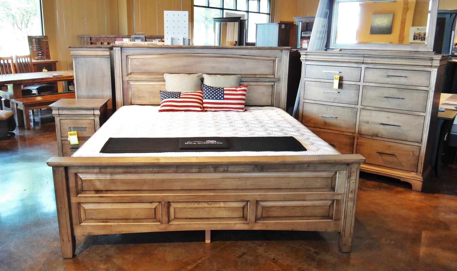 Edinburgh Queen Livingston Bed by Oakwood Industries at Mueller Furniture