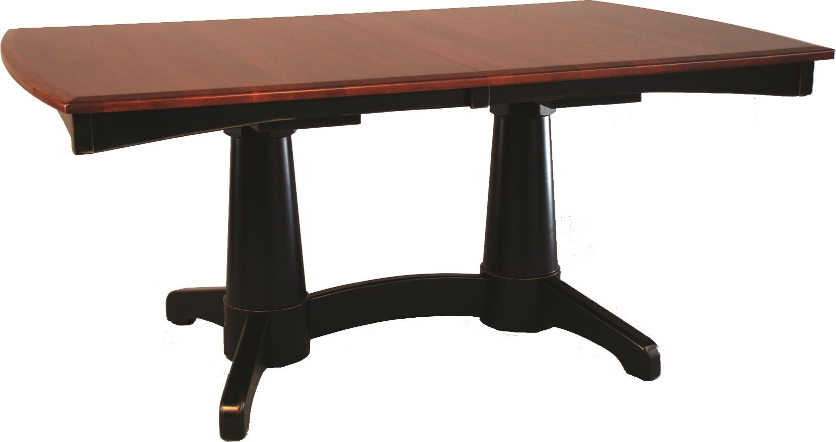 Lighthouse Dining Table by Oakwood Industries at Crowley Furniture & Mattress