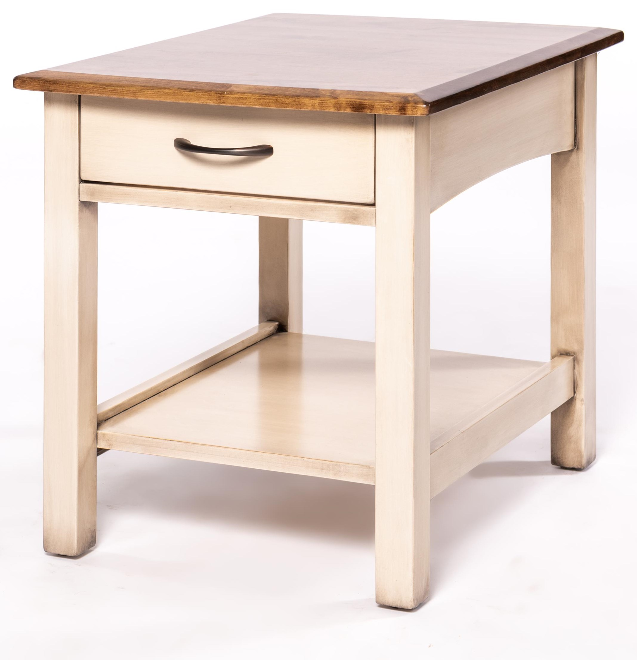 Manchester End Table by Oakwood Industries at Crowley Furniture & Mattress