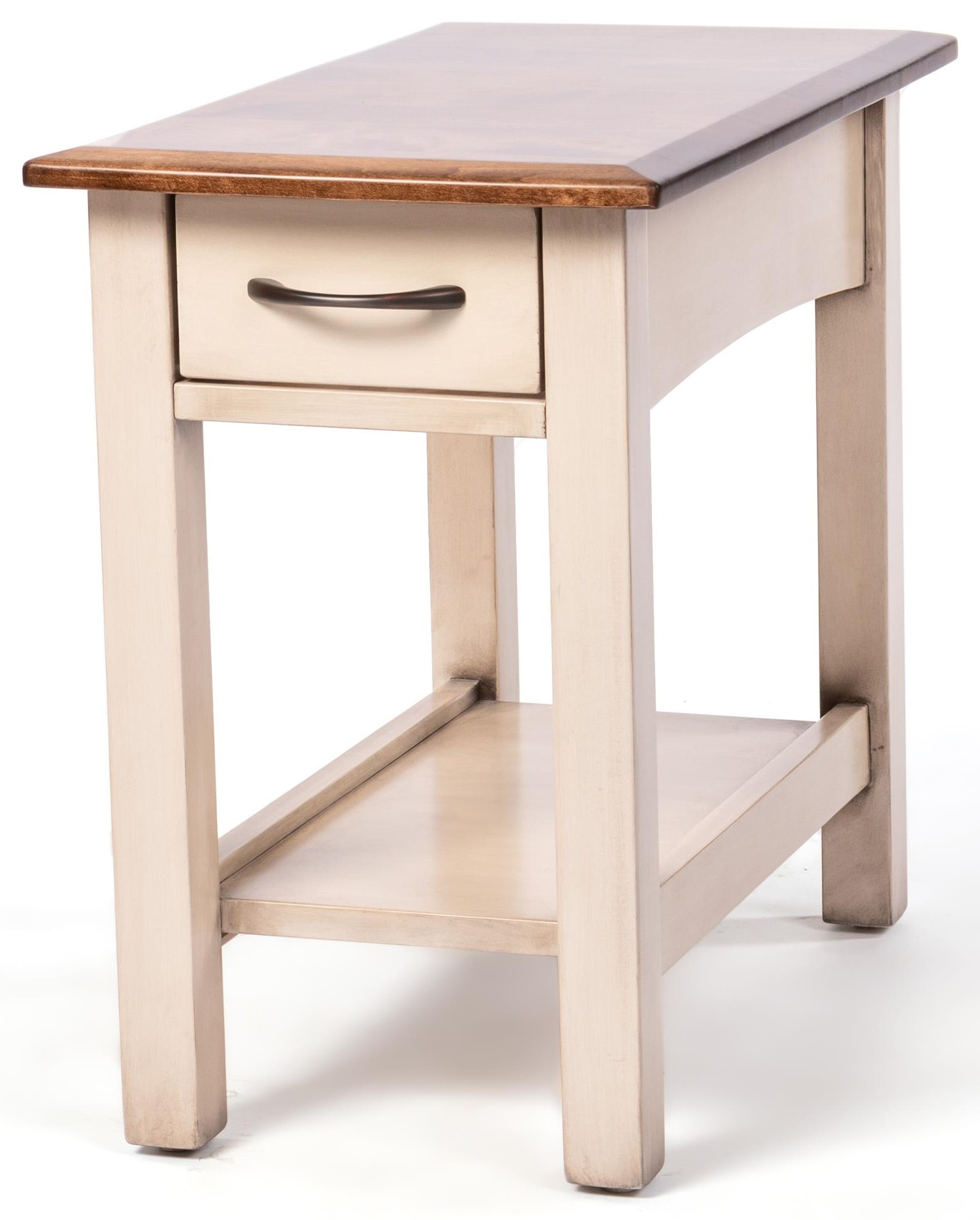 Manchester Chairside Table by Oakwood Industries at Crowley Furniture & Mattress