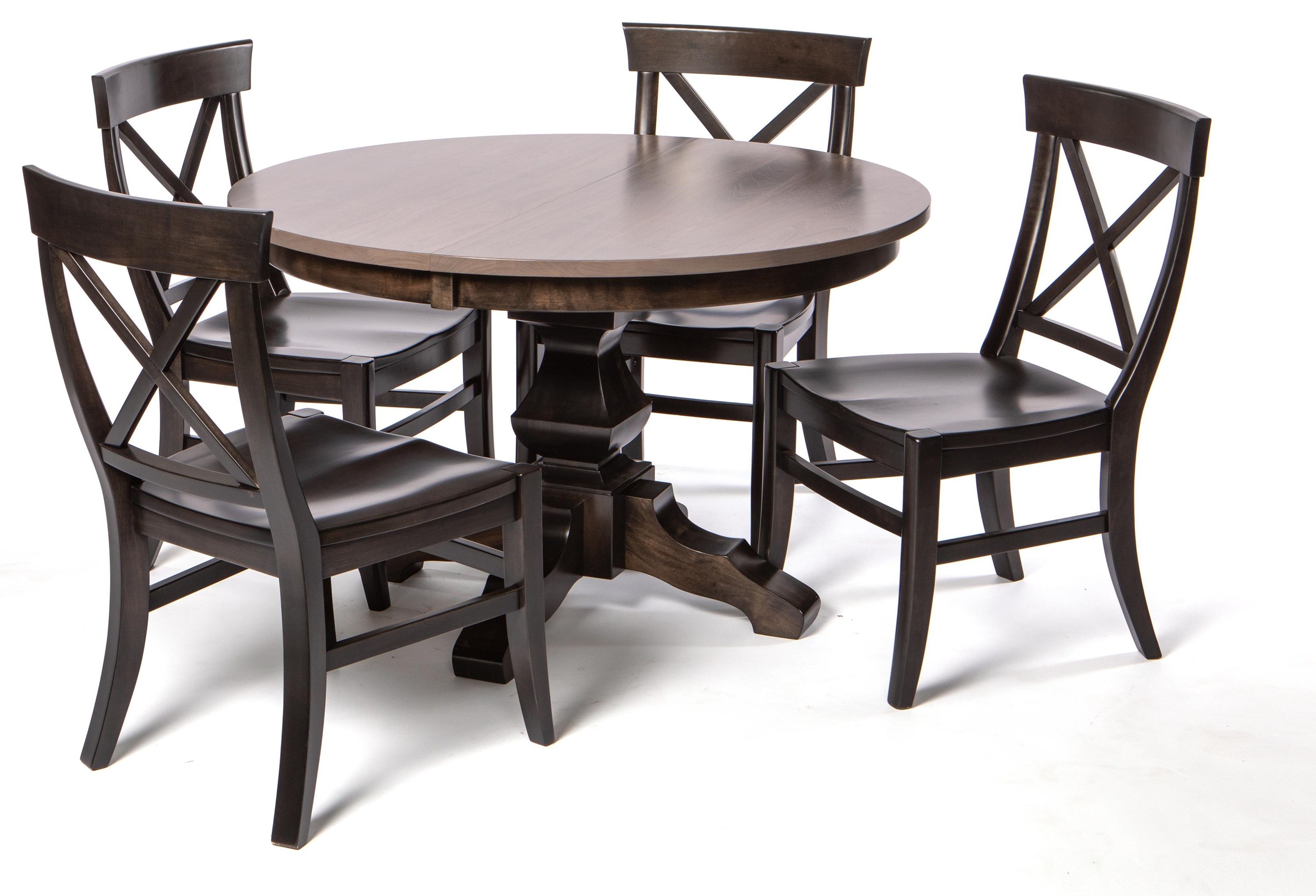 Milano 5-PIECE DINING SET by Oakwood Industries at Crowley Furniture & Mattress