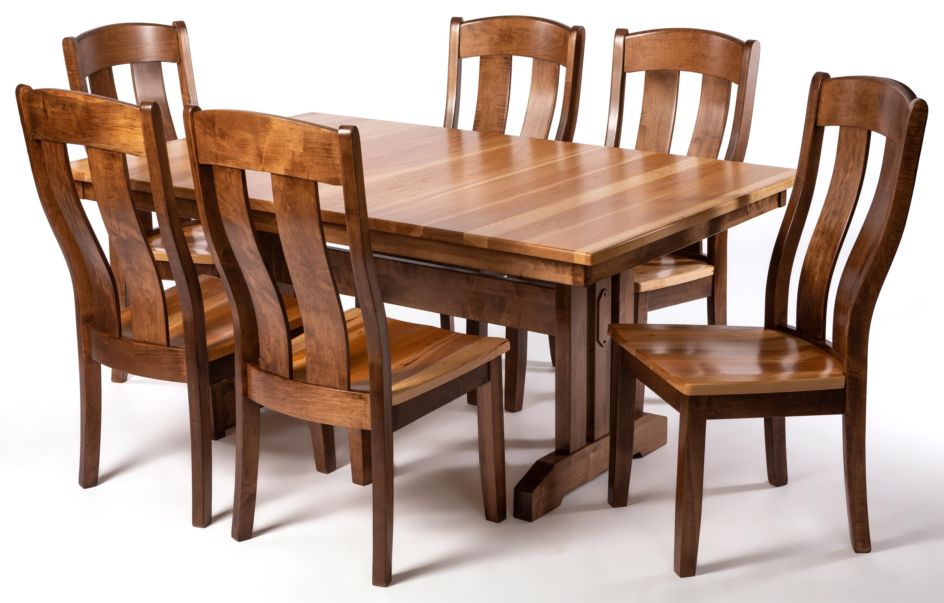 Mission 7-Piece Dining Set by Oakwood Industries at Crowley Furniture & Mattress