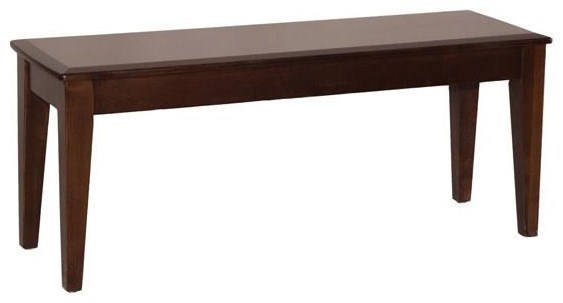 Monterey Dining Bench by Oakwood Industries at Crowley Furniture & Mattress