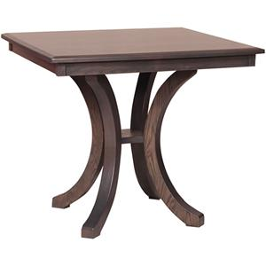 Bellevue Counter Height Table with Splayed Legs