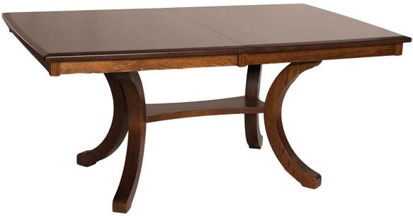 Casual Dining Bellevue Rectangular Table by Oakwood Industries at Mueller Furniture