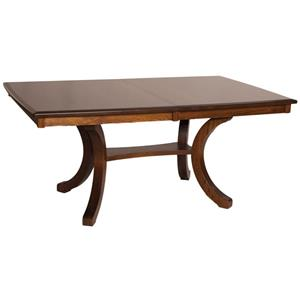 Bellevue Rectangular Counter Height Dining Table with Splayed Legs