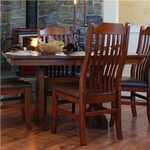 Mini Mission Trestle Table