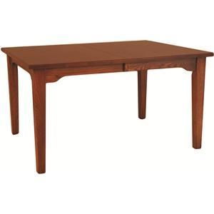 Mission Leg Table