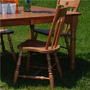 Plain Back Dining Side Chair