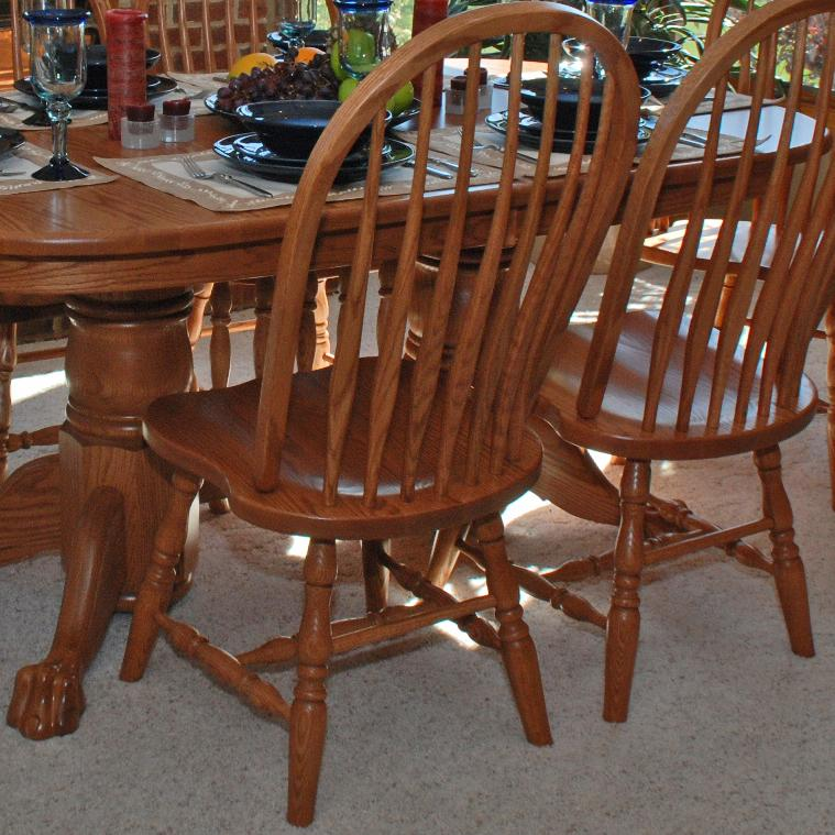 Casual Dining Bent Back Side Chair by Oakwood Industries at Mueller Furniture