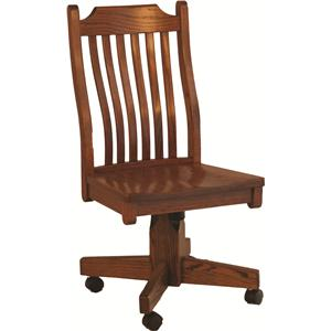 Mission Roller Wood Side Chair
