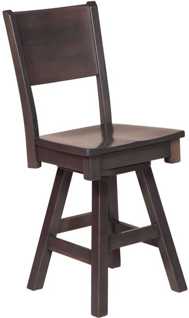 Casual Dining Sonata Side Counter Height Chair by Oakwood Industries at Mueller Furniture