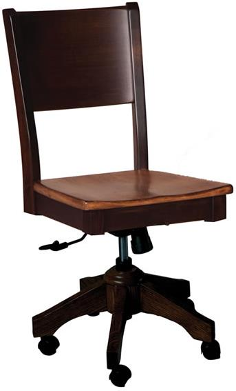 Casual Dining Sonata Roller Side Chair by Oakwood Industries at Mueller Furniture