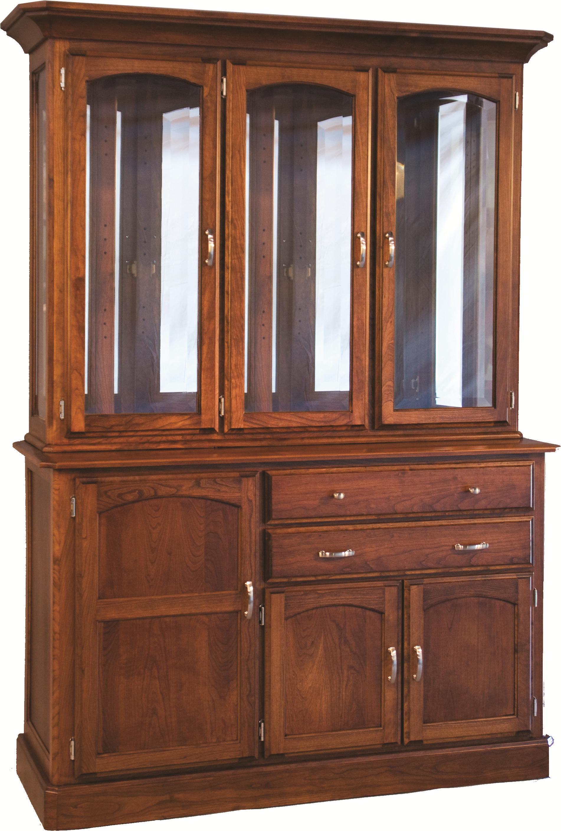 Casual Dining Newport Hutch and Buffet by Oakwood Industries at Mueller Furniture