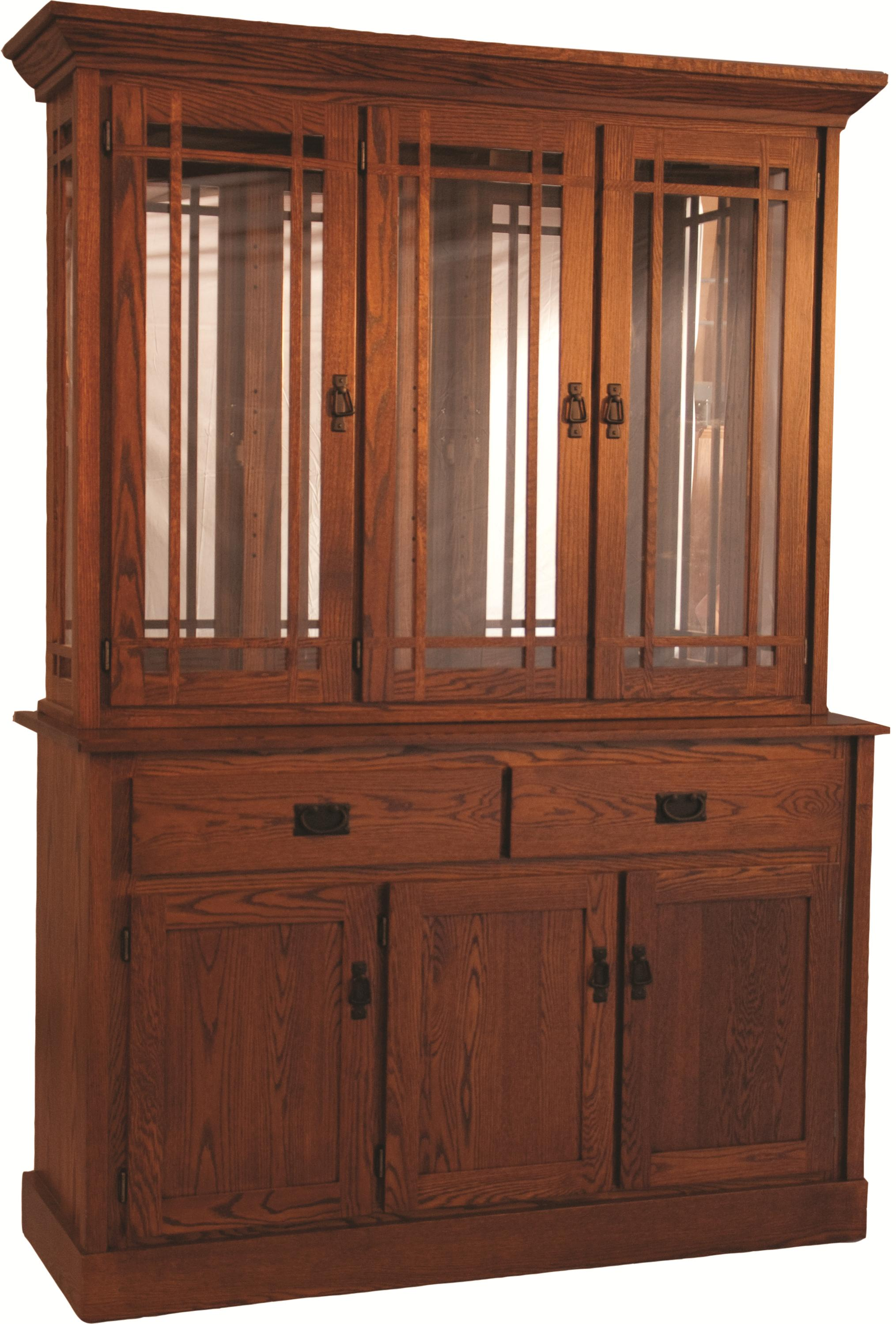 Casual Dining Mission Hutch by Oakwood Industries at Mueller Furniture