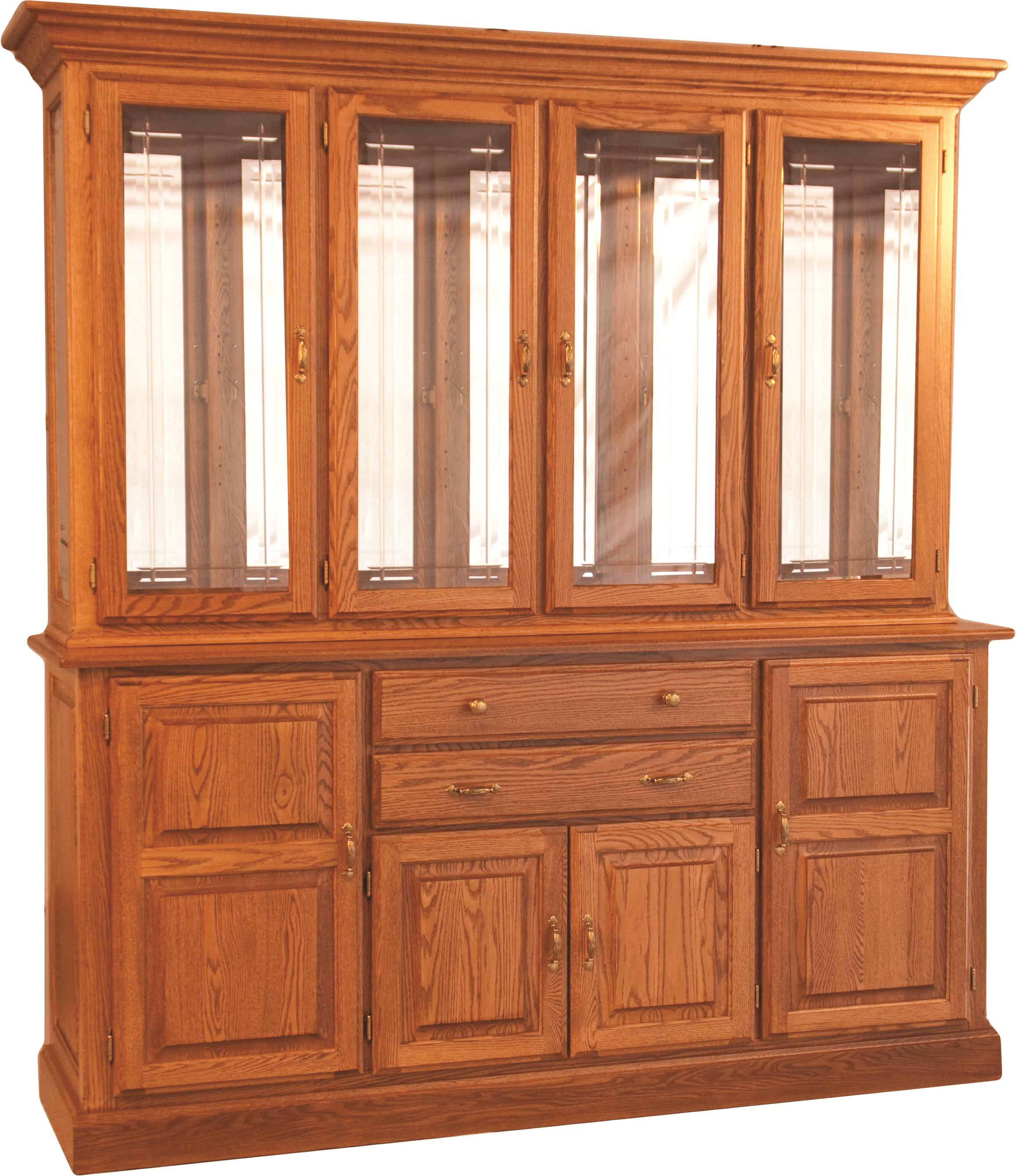 Casual Dining Town and Country China Hutch by Oakwood Industries at Mueller Furniture