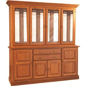 Town & Country Hutch and Buffet w/ Touch Lighting