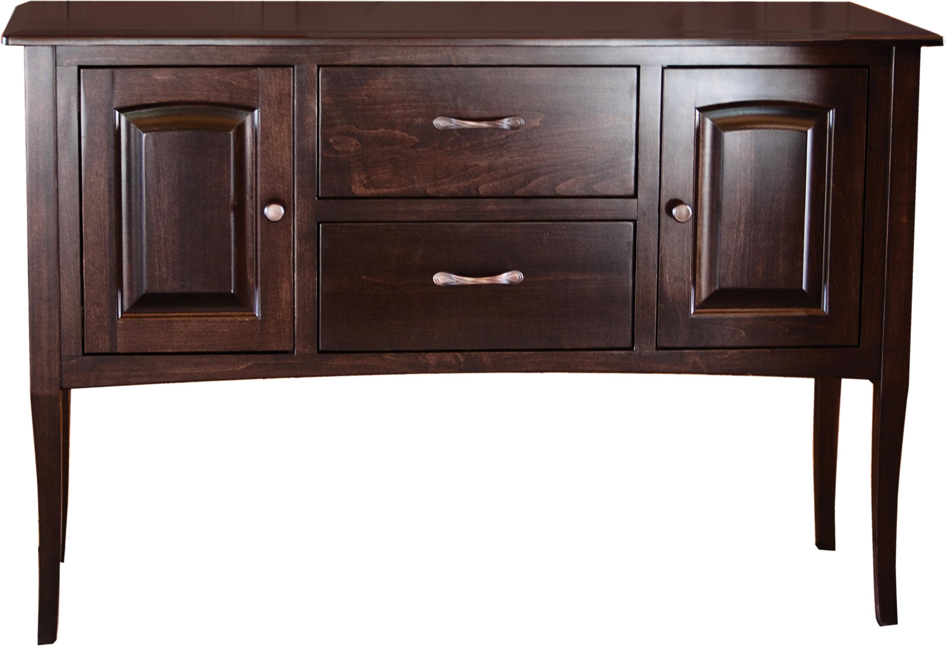 Rhapsody Belair Sideboard by Oakwood Industries at Crowley Furniture & Mattress