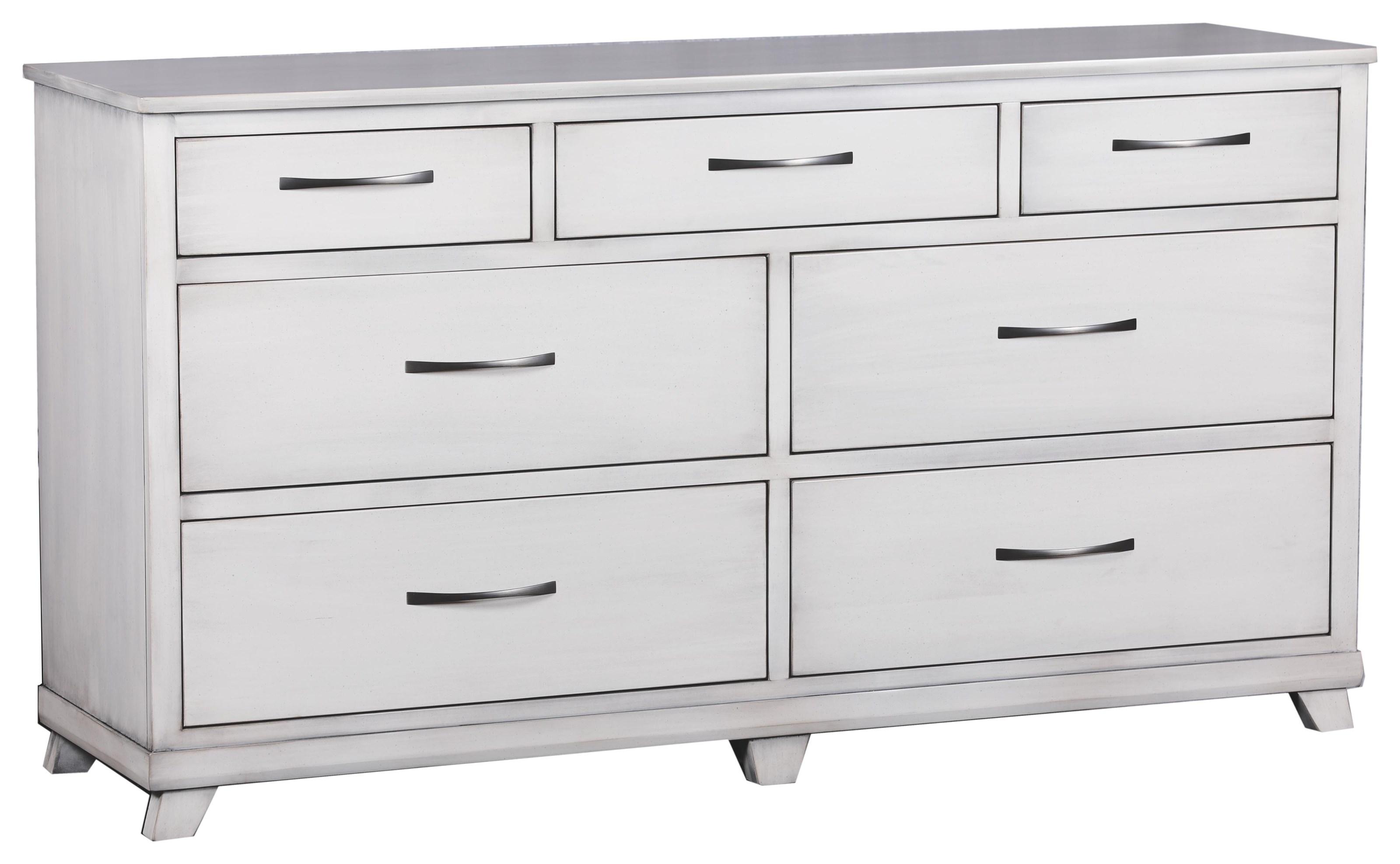 Urbandale Triple Dresser by Oakwood Industries at Crowley Furniture & Mattress
