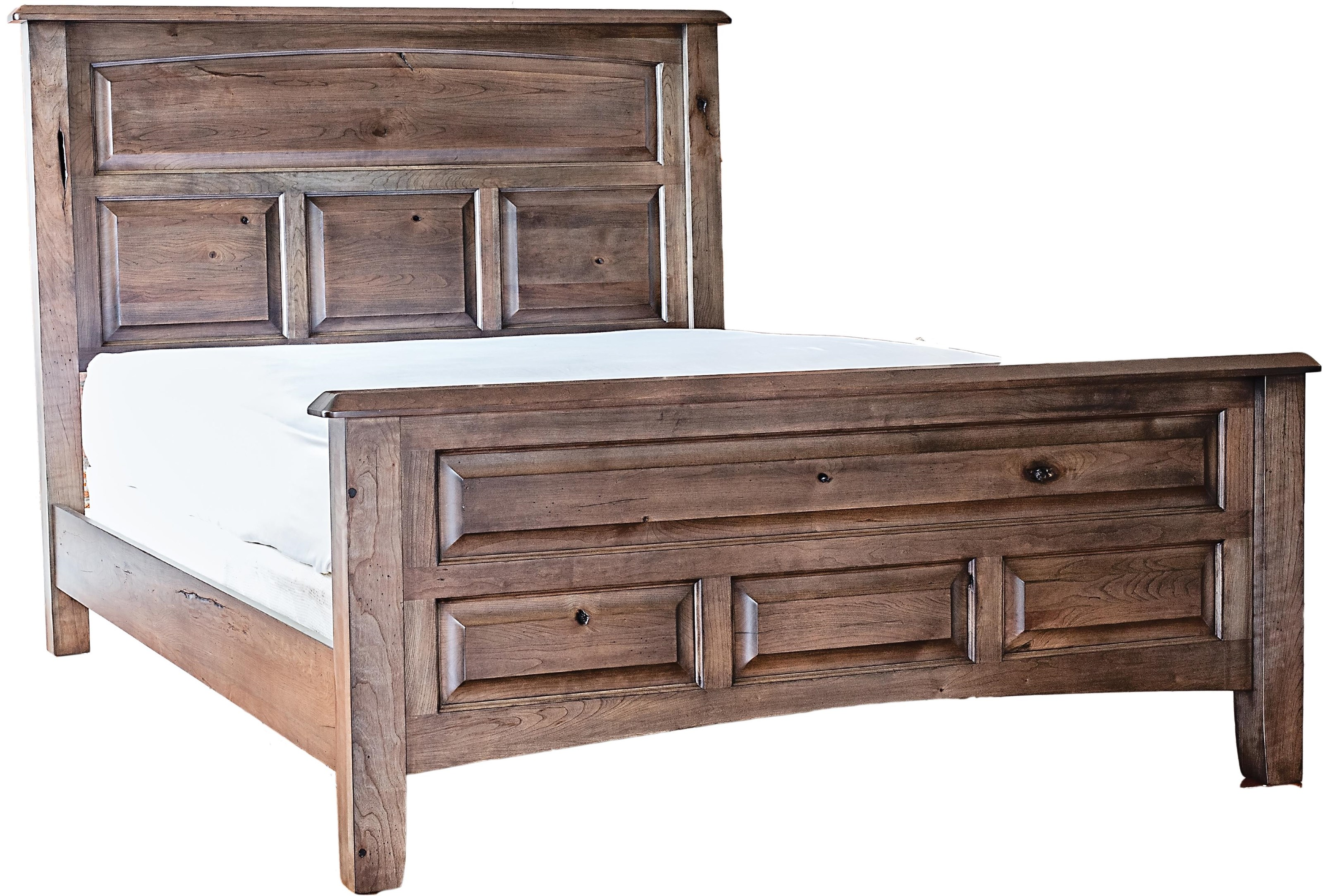 Westbrook King Bed by Oakwood Industries at Crowley Furniture & Mattress