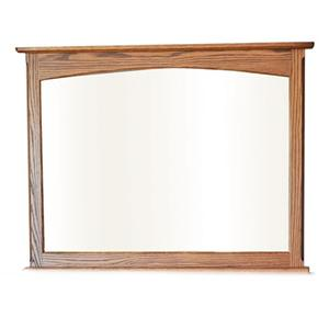 Rectangular Mirror with Wooden Frame
