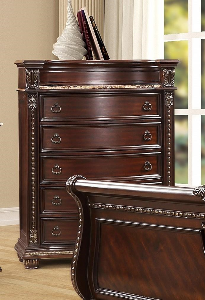 3600 BEAU 6 Drawer Chest by Oasis Home & Decor at Furniture Fair - North Carolina