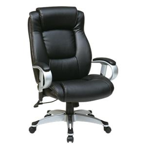 Office Star Executive Eco Leather Chairs Executive Chair