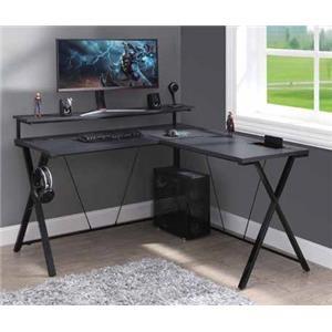 Checkpoint Battlestation L-Shape Gaming Desk