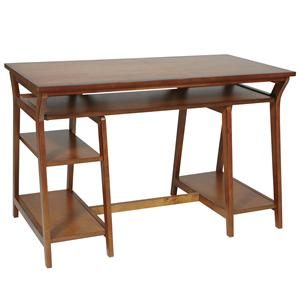 Office Star Home Office Workstations and Gaming Carts Trestle Desk