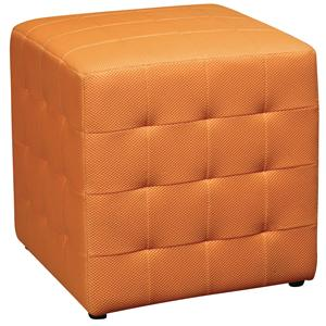Office Star Ottomans Fabric Cube