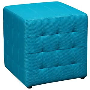Office Star Ottomans Fabric Cube