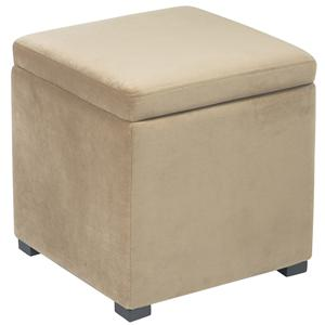 Office Star Ottomans Detour Storage Cube