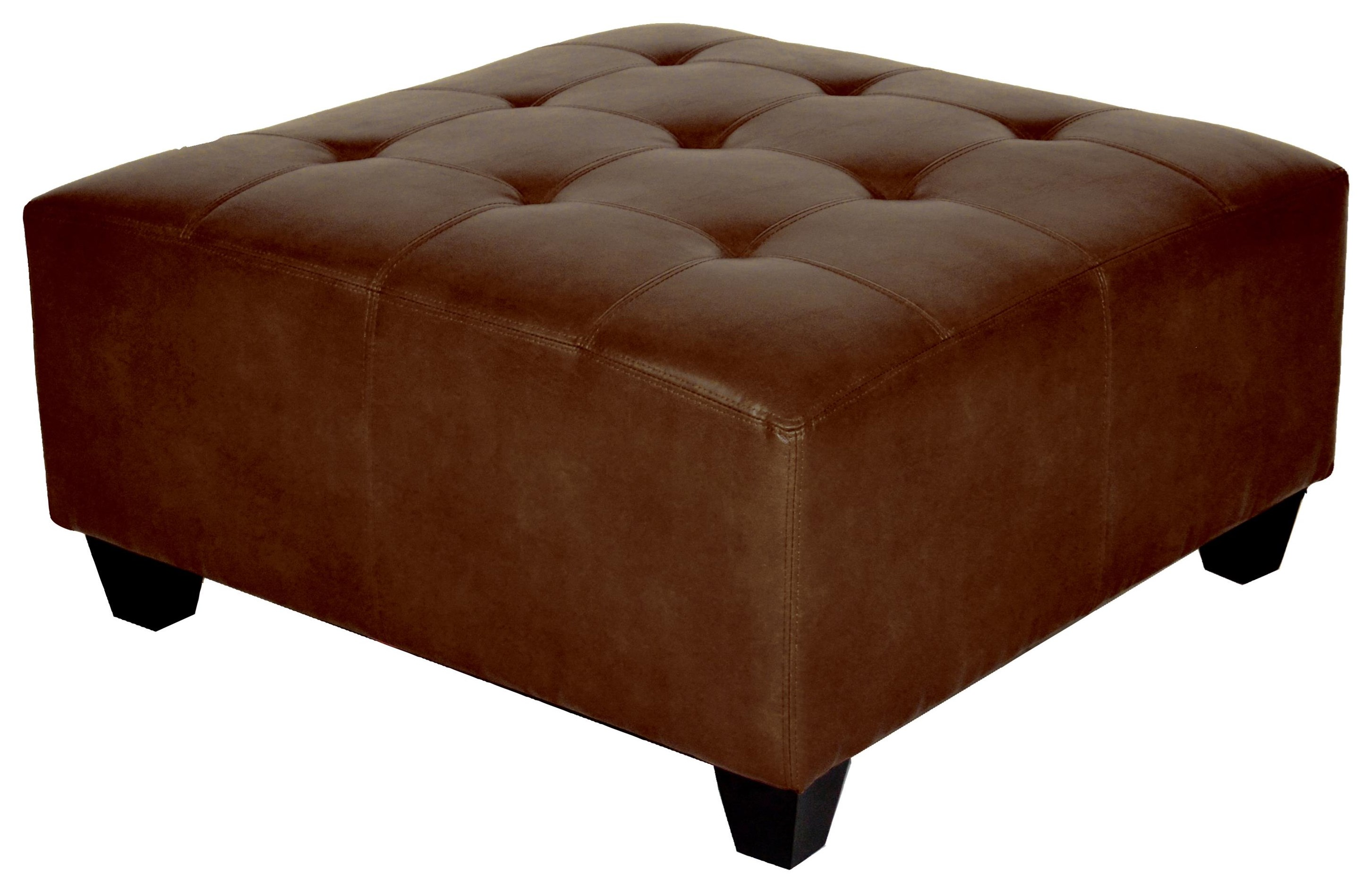 Chandler Ottomans Cocktail Ottoman in Brown by Offshore Furniture Source at Sam Levitz Furniture