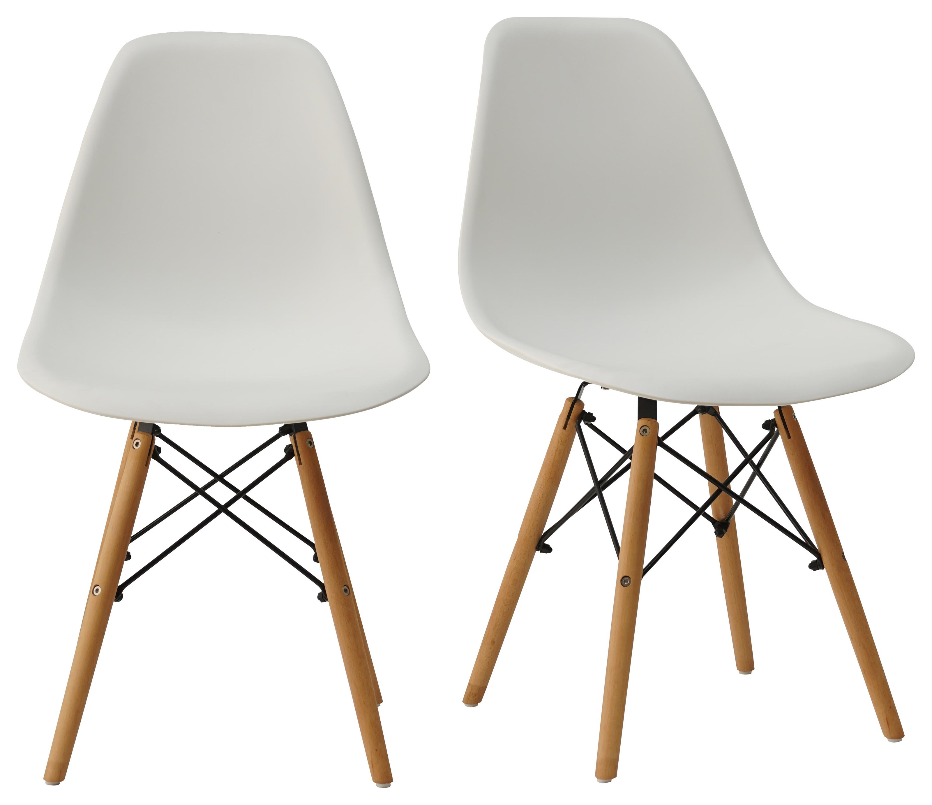 Pair of Shell Chairs