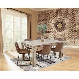 7 Piece Rectangular Dining Set