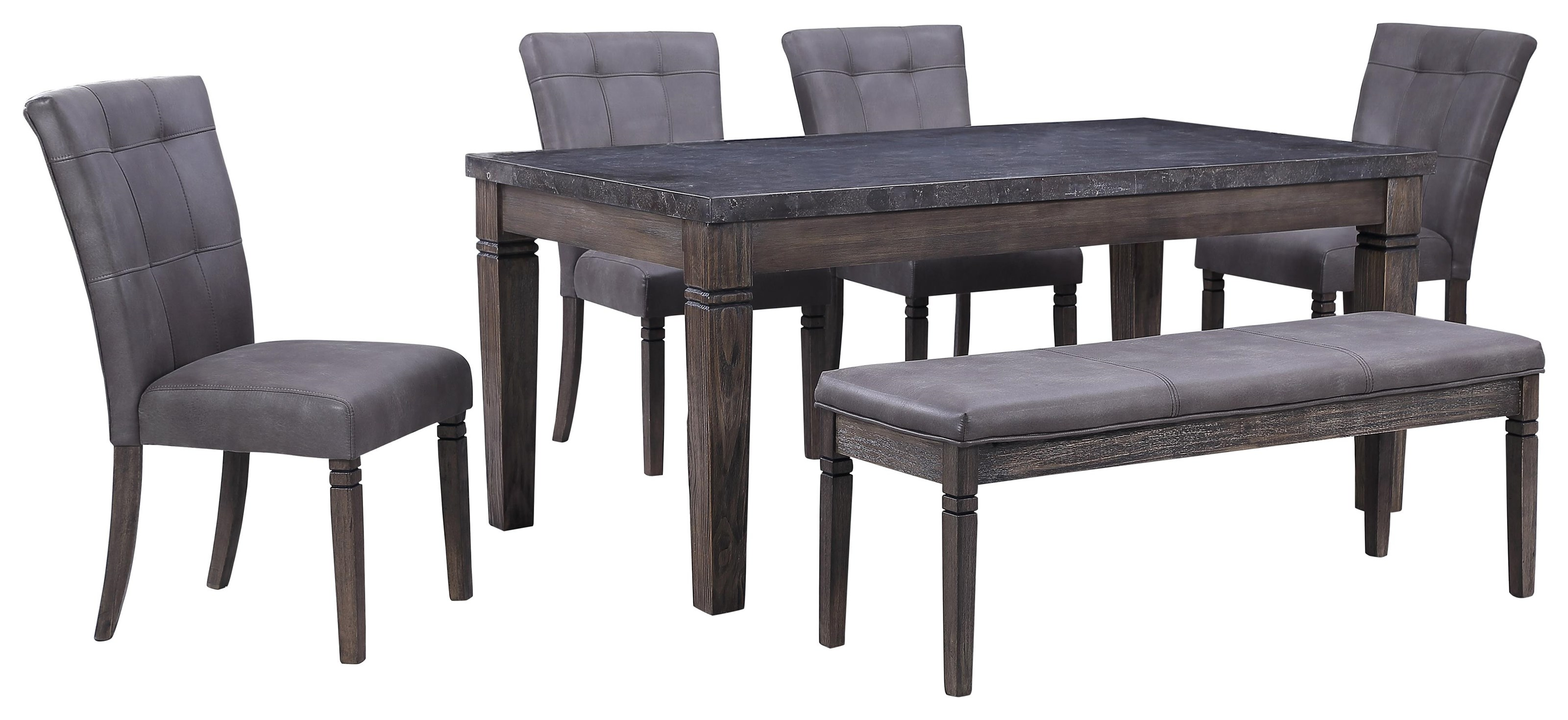 Fillmore Dining Bench by Offshore Furniture Source at Sam Levitz Furniture