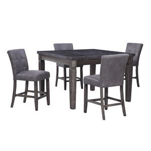 6 Piece Counter Height Dining Set