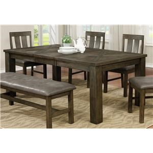 Grey Finish Dining Table