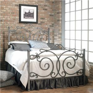 Old Biscayne Designs Custom Design Iron and Metal Beds Beatrice Metal Bed