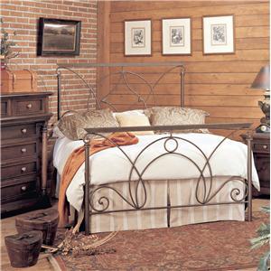 Old Biscayne Designs Custom Design Iron and Metal Beds Madeleine Metal Bed