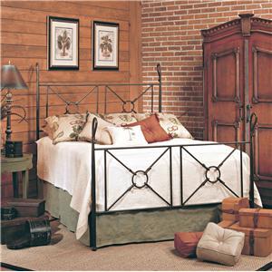 Old Biscayne Designs Custom Design Iron and Metal Beds Toledo Metal Bed