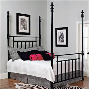Old Biscayne Designs Custom Design Iron and Metal Beds Windsor Metal Poster Bed