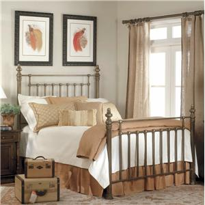Old Biscayne Designs Custom Design Iron and Metal Beds Windsor Metal Bed