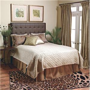 Old Biscayne Designs Custom Design Solid Wood Beds Adrianne Upholstered Bed