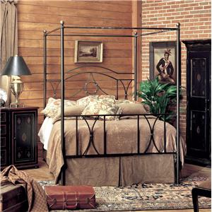 Old Biscayne Designs Custom Design Iron and Metal Beds Alana Canopy Bed